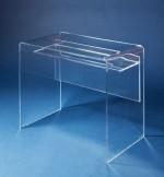 Acrylglas-Schreibtisch