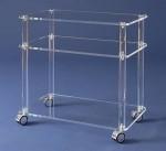 Acrylglas-Rollwagen