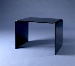 Acrylglas Beistelltisch schwarz