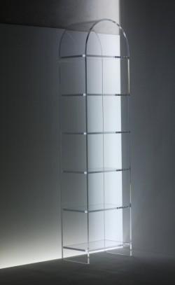 Acrylglas Rundbogenregal