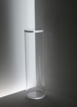 Runde Acrylglas Säule