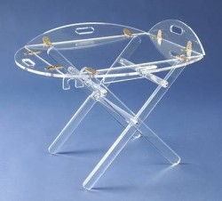 Acrylglas-Butlertisch