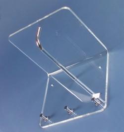Acrylglas-Garderobe