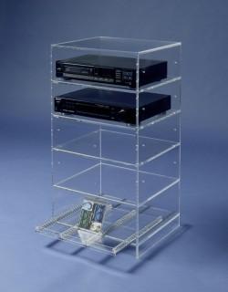 Acrylglas-Hifi-Rack