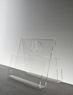 Acrylglas-Zeitungsständer