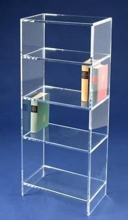 Acrylglas-Bücherregal