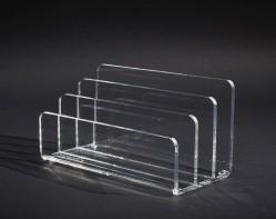 Acrylglas Briefständer 3-fach