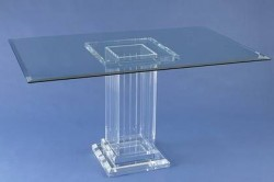 Acrylglas-Esstisch