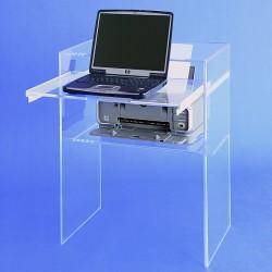 Acrylglas-Laptop-Tisch