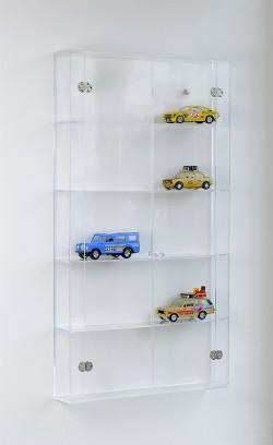 Acrylglas Wandvitrine