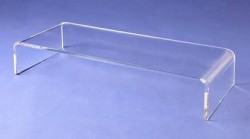 Acrylglas TV-Brücke