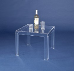 Acrylglas Beistelltisch