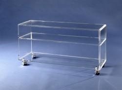 Acrylglas TV Rollwagen
