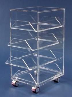 Acrylglas-Rollcontainer