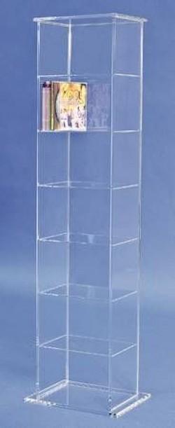 Acrylglas CD / DVD-Regal