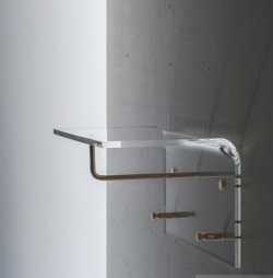 Acrylglas Garerobe