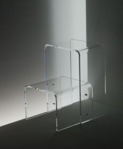 Acrylglas Tritt