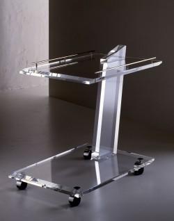 Acrylglas Servierwagen