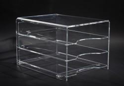 Acrylglas Ablage 3-fach