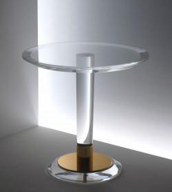 Runder Acrylglas Beistelltisch