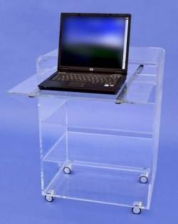 Acrylglas-Laptoptisch