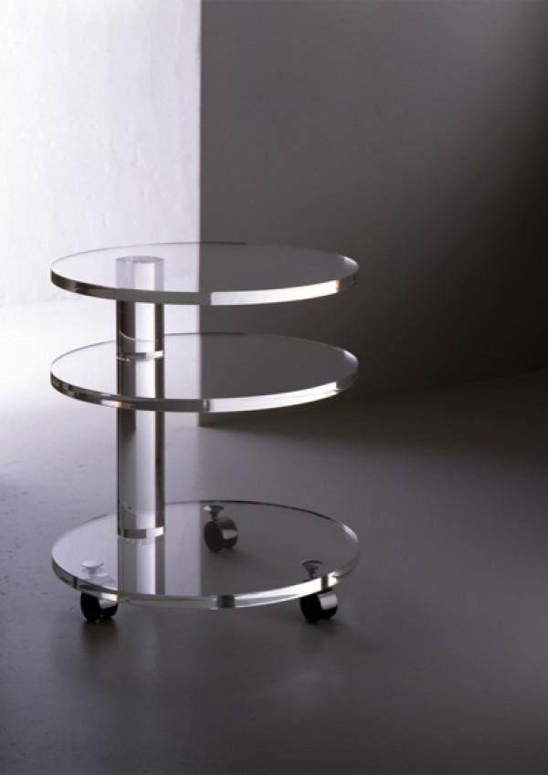 acrylglas rolltisch m bel glanz der spezialist f r acrylglasm bel. Black Bedroom Furniture Sets. Home Design Ideas