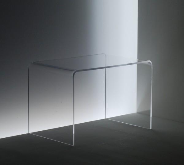 acryglas beistelltisch m bel glanz der spezialist f r. Black Bedroom Furniture Sets. Home Design Ideas