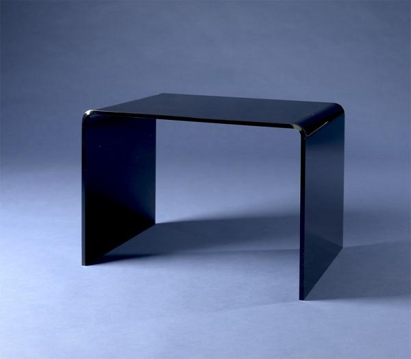 acrylglas beistelltisch schwarz m bel glanz der spezialist f r acrylglasm bel. Black Bedroom Furniture Sets. Home Design Ideas