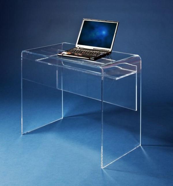 acryl schreibtisch m bel glanz der spezialist f r acrylglasm bel. Black Bedroom Furniture Sets. Home Design Ideas
