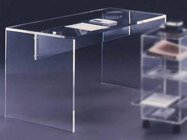 acryl schreibtisch m bel glanz der spezialist f r. Black Bedroom Furniture Sets. Home Design Ideas