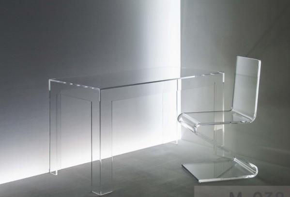Acrylglas schreibtisch esstisch esstische m bel for Acrylglas tisch