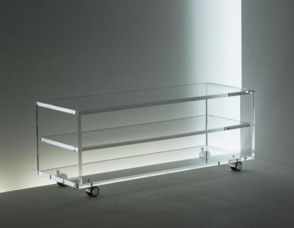 acrylglas rollwagen tv hifi m bel m bel glanz der spezialist f r acrylglasm bel. Black Bedroom Furniture Sets. Home Design Ideas