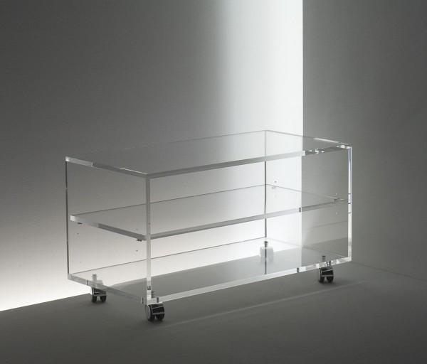 acrylglas rollwagen tv hifi m bel m bel glanz der. Black Bedroom Furniture Sets. Home Design Ideas