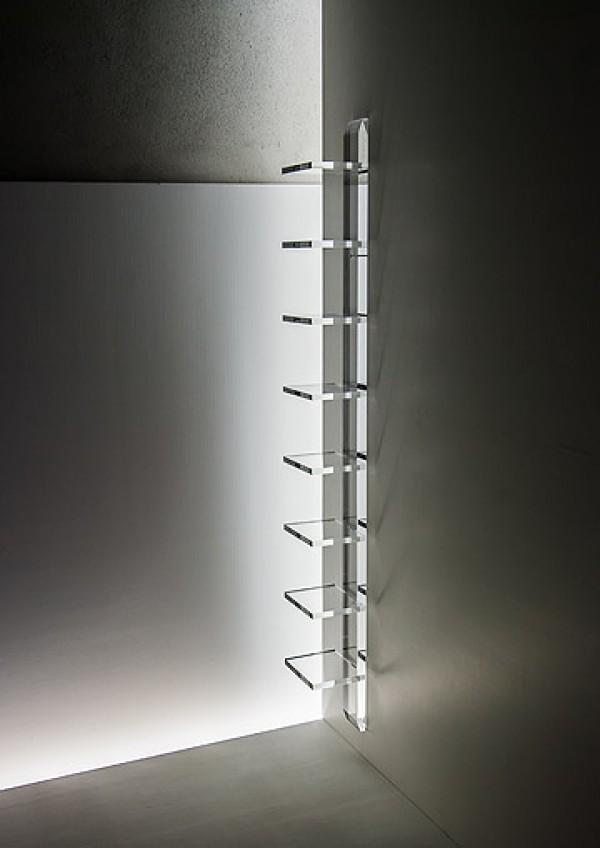 acrylglas wandregal m bel glanz der spezialist f r acrylglasm bel. Black Bedroom Furniture Sets. Home Design Ideas