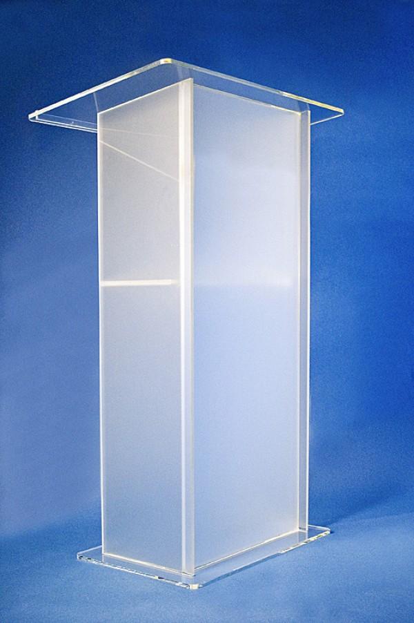 acrylglas stehpult m bel glanz der spezialist f r acrylglasm bel. Black Bedroom Furniture Sets. Home Design Ideas