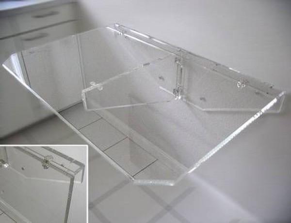 Klapptisch wand 4 personen  Acrylglas-Klapptisch