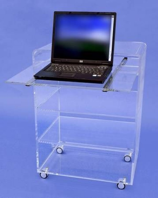 acrylglas laptoptisch m bel glanz der spezialist f r acrylglasm bel. Black Bedroom Furniture Sets. Home Design Ideas